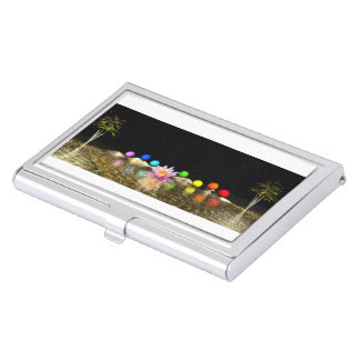chakras and palms business card holder