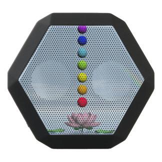 Chakras and rainbow - 3D render Black Bluetooth Speaker
