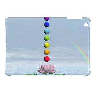 Chakras and rainbow - 3D render iPad Mini Cover