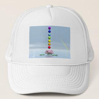 Chakras and rainbow - 3D render Trucker Hat