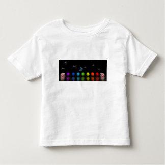 chakras birds and aum toddler T-Shirt