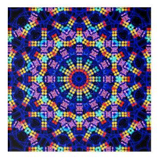Chakras Mandala Acrylic Print