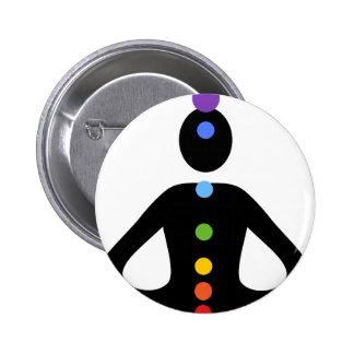Chakras Pinback Buttons