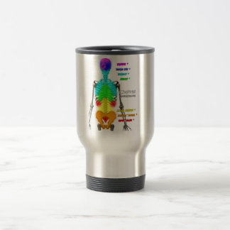 Chakras Skeleton Travel Mug