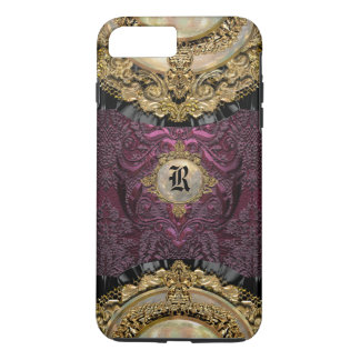 Chalchadoriz Elegance Girly  Monogram Plus iPhone 8 Plus/7 Plus Case