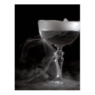 Chalice in the mist postcard