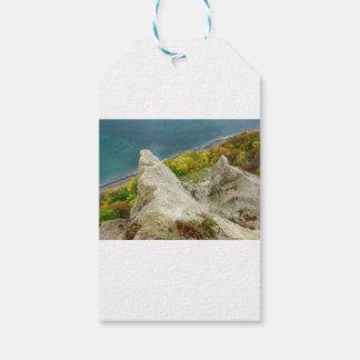 Chalk cliffs on the island Ruegen Gift Tags