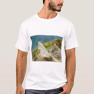 Chalk cliffs on the island Ruegen T-Shirt