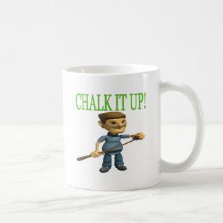 Chalk It Up 2 Basic White Mug