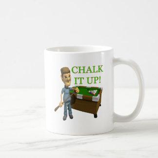 Chalk It Up Basic White Mug