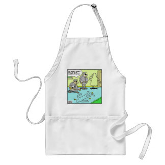 Chalk Outline Funny Police Gifts & Collectibles Standard Apron
