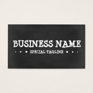 CHALKBOARD 3dots Business Card