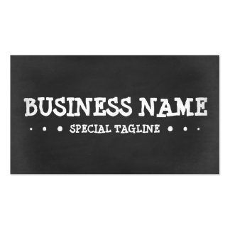 CHALKBOARD 3dots Pack Of Standard Business Cards
