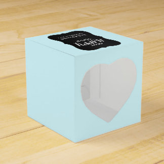 Chalkboard Aqua Mini Wedding Tissue Boxes