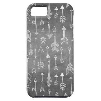 Chalkboard Arrow (black) iPhone 5 Case