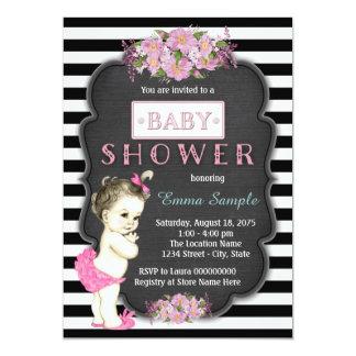 Chalkboard Baby Shower Card