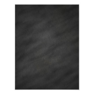 Chalkboard Background Gray Black Chalk Board Blank Poster