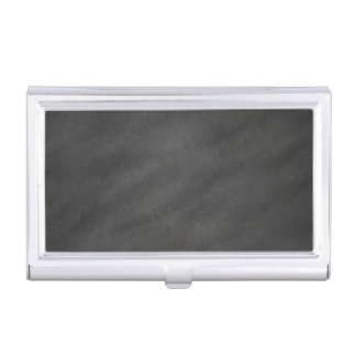 Chalkboard Background Gray Black Chalk Board Business Card Cases