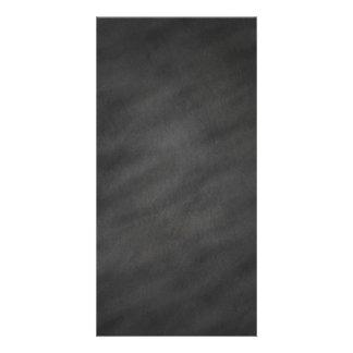 Chalkboard Background Gray Black Chalk Board Photo Cards