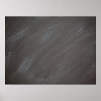 Chalkboard Blackboard Background Retro Charcoal Poster