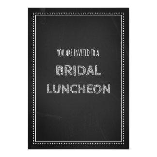 Chalkboard Bridal Lunch Invitation Cards