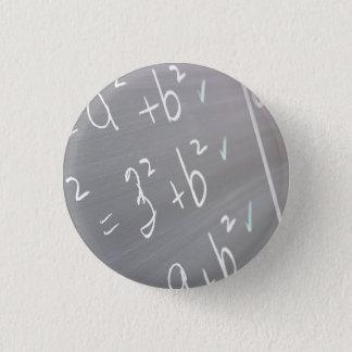 Chalkboard Closeup 3 Cm Round Badge