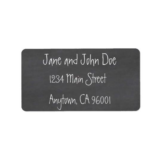 Chalkboard CustomizeABLEs Address Label