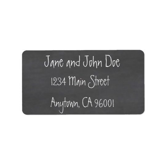 Chalkboard CustomizeABLEs Label