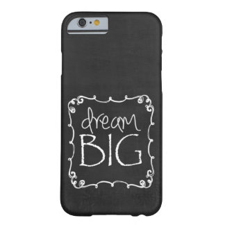 Chalkboard Design DREAM BIG Custom iPhone 6 case S