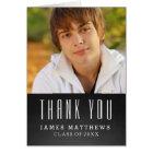 CHALKBOARD GRAD   GRADUATION THANK YOU CARD