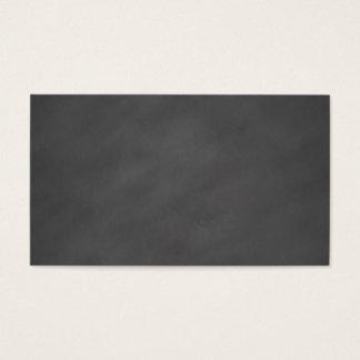 Chalkboard Gray Background Grey Chalk Board Black Business Card