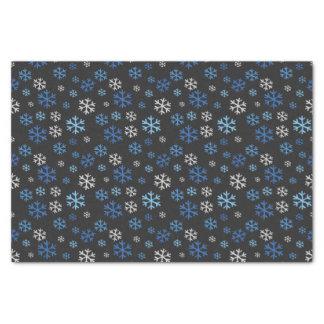 Chalkboard Hanukkah Snowflakes Tissue Paper