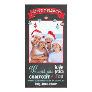 Chalkboard Holiday Photo Card