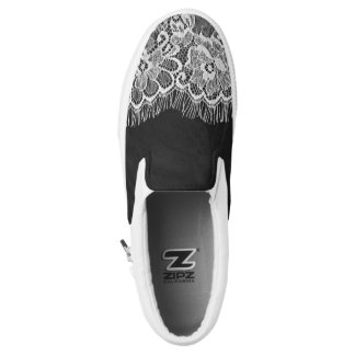 Chalkboard lase Vintage Slip On Shoes
