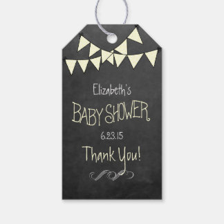 Chalkboard Look- Baby Shower Pack Of Gift Tags
