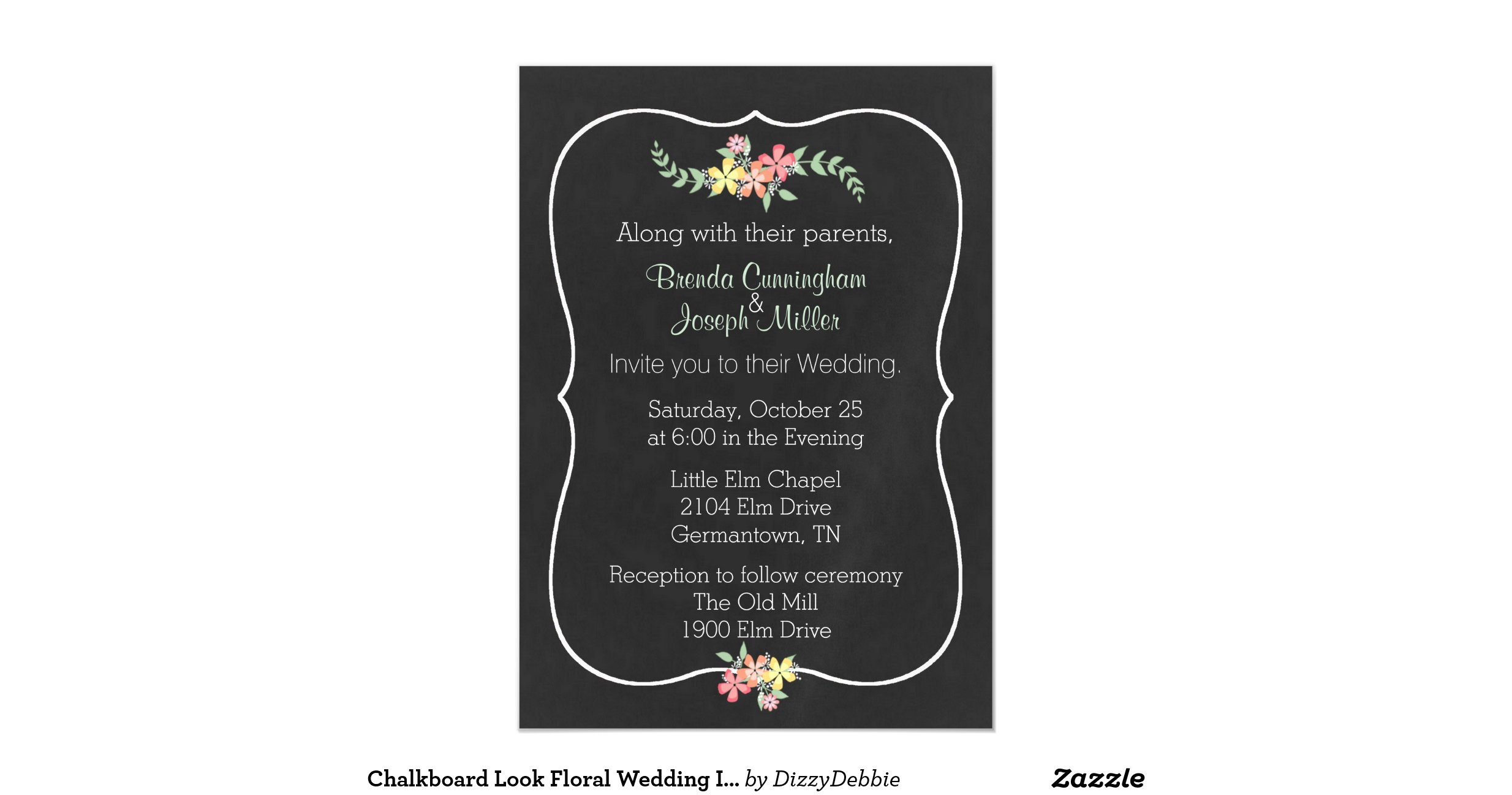 Perfect Wedding Invitation Magnets Embellishment - Invitations ...