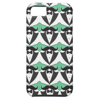Chalkboard Mr Tuxedo Mustache Wedding Case For The iPhone 5