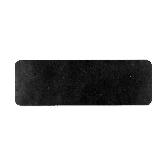Chalkboard Rustic Shabby Cottage Chic Boutique Return Address Label
