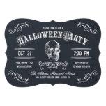 Chalkboard Skull Halloween Costume Party