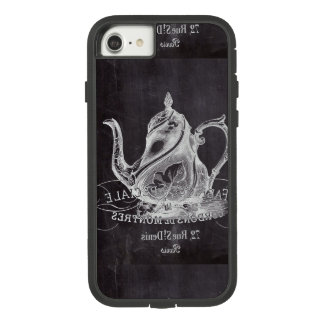 Chalkboard teapot Alice in Wonderland tea party Case-Mate Tough Extreme iPhone 7 Case
