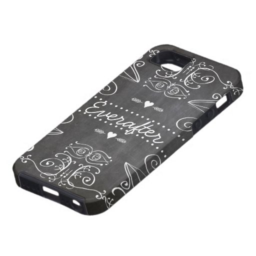 Chalkboard Typography Art iPhone 5/5S Case