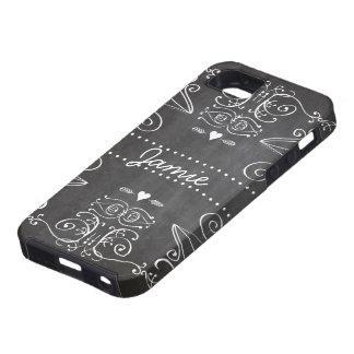 Chalkboard Typography Art iPhone 5 Case