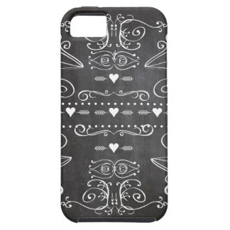 Chalkboard Typography Art iPhone 5 Cover