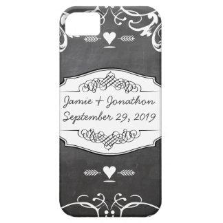 Chalkboard Typography Weddings iPhone 5 Covers