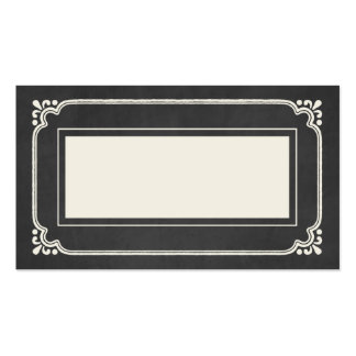 Chalkboard Union | Wedding Place Cards Pack Of Standard Business Cards