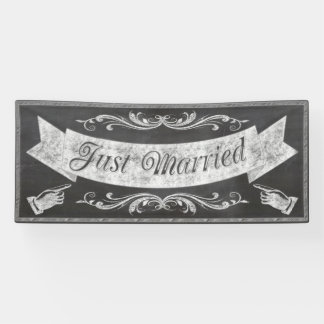 Chalkboard Wedding Banner CBWX