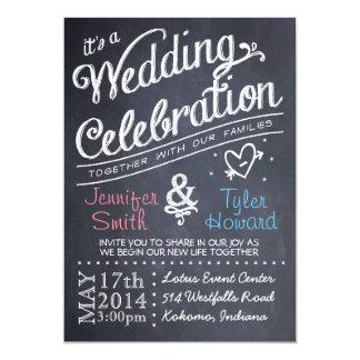 Chalkboard Wedding Invitations & Announcements | Zazzle.com.au