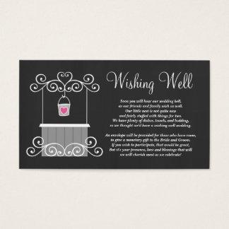 Chalkboard Wedding Wishing Well