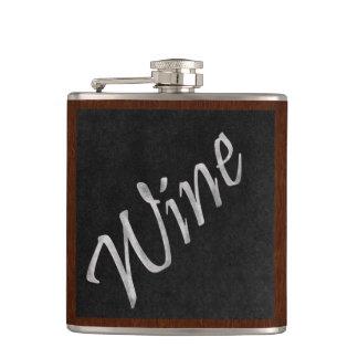 Chalkboard Wine Flask