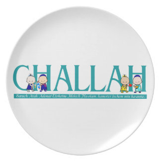 Challah and Blessing Plate